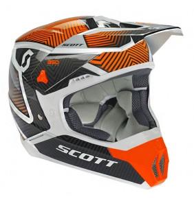 Casco Scott 350 Illusion White Orange