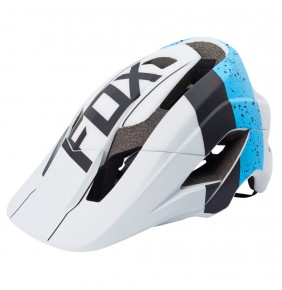 Casco Fox Metah Kroma Blue / White