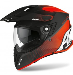 Casco Airoh Commander Progress Orange Matt