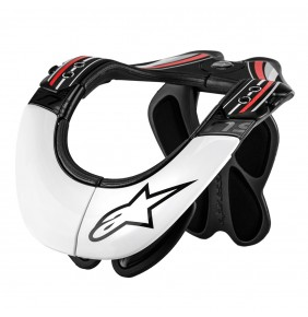 Collarin Alpinestars BNS PRO Black White Red