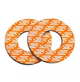 Juego de Espumas Scar para Puños Color Naranja