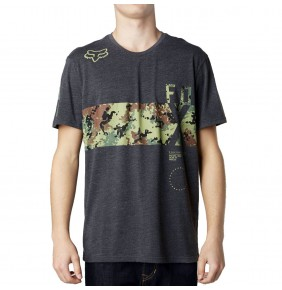 Camiseta Fox Reverse Logic Heather Black