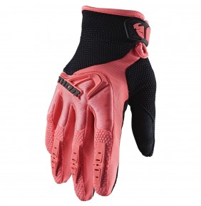 Guantes Chica THOR Spectrum Women´s Coral / Black 2020