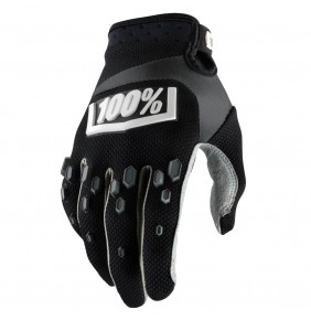 Guantes 100% Airmatic Black