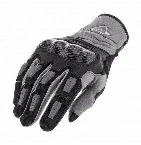 Guantes Acerbis Carbon G 3.0 Black / Grey