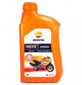 Aceite Repsol Moto HMEOC Sintético 4T 10W-30 1L