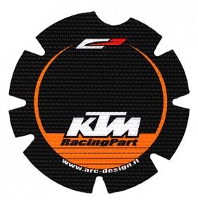 Adhesivo Protector Tapa Embrague 4MX SX-EXC 125/144 07-15