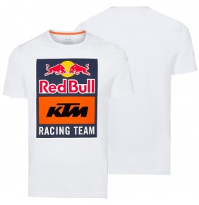 Camiseta Red Bull KTM Racing Team Emblem White