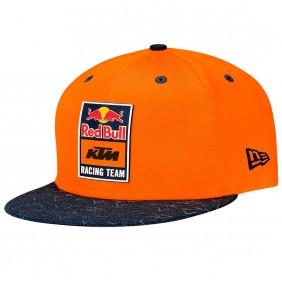 Gorra Red Bull KTM Racing Team Patch Flat Cap Orange