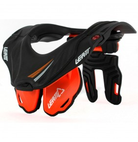 Collarín Leatt GPX 5.5 Junior Naranja / Negro