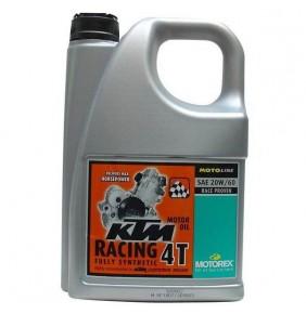 Aceite Motorex KTM Racing 4T 20W/60 (4 Litros)