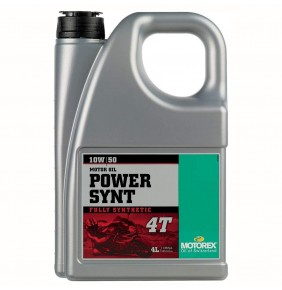 Aceite Motor Motorex Power Synt 4T 10W/50 4 Litros