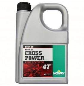 Aceite Motor Motorex Cross Power 4T 10W/50 4 Litros