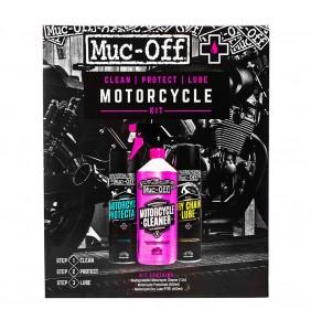 Kit Limpieza, Protección y Lubricación Muc-Off Motorcycle