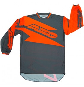 Camiseta AXO Motion Grey Orange