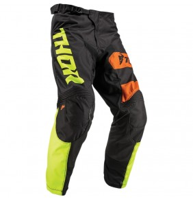 Pantalón Niño Thor Pulse Savage Big Kat Black / Lime