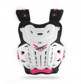 Peto Leatt 4.5 Womens White Pink