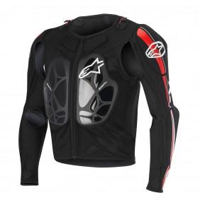 Peto Integral Alpinestars Bionic Pro Black Red White
