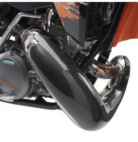 Protector Bufanda de Escape en Carbono KTM 250/300 EXC / SX (Ref.Nº SXS07300500)