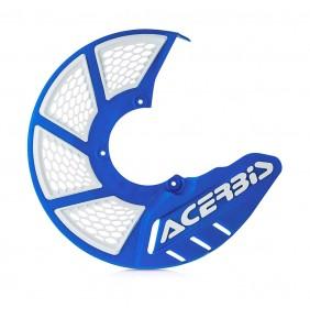 Protector Disco Delantero Acerbis X-Brake 2.0 Vented Azul / Blanco
