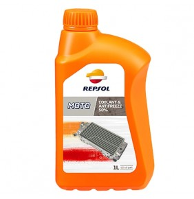 Anticongelante Refrigerante Repsol Coolant & Antifreeze 50% 1L