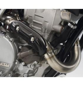 Protector de Escape en Carbono KTM 250 EXC-F / SX-F - KTM 350/400/450/500/530 EXC