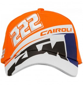 Gorra KTM Tony Cairoli 222 White / Blue / Orange 2020
