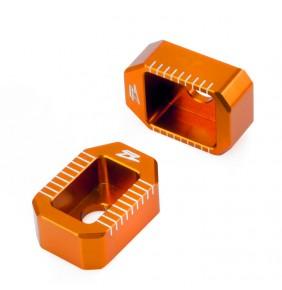 Tensores de Cadena Zeta Naranjas KTM 65 SX