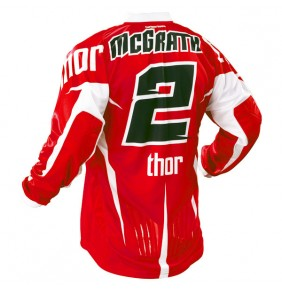 Camiseta Thor Core McGrath Red / White