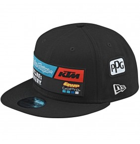 Gorra KTM Troy Lee Designs Team Black 2020