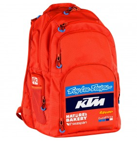 Mochila KTM Troy Lee Designs Team Backpack Orange