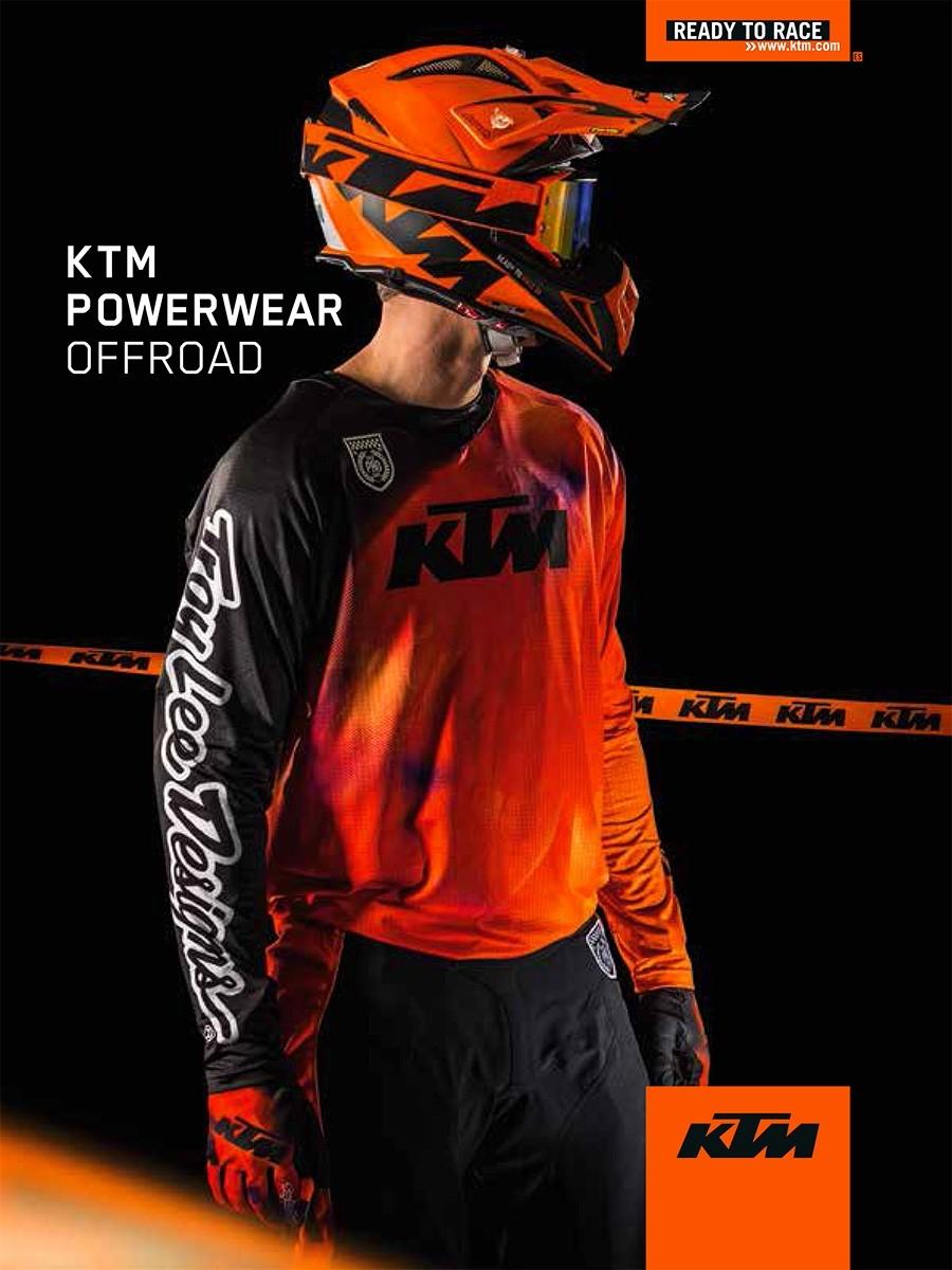 Camiseta Ktm Troy Lee Designs Se Slash Orange 2020
