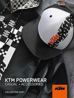 CATALOGO KTM POWERWEAR CASUAL 2021